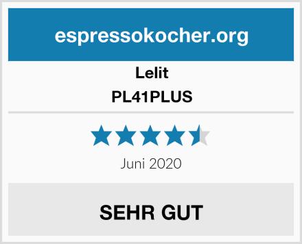 Lelit PL41PLUS Test