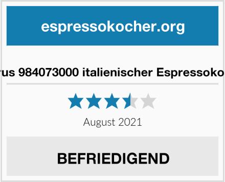 No Name Taurus 984073000 italienischer Espressokocher Test