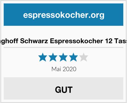 Kinghoff Schwarz Espressokocher 12 Tassen Test