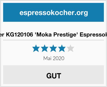 Forever KG120106 'Moka Prestige' Espressokocher Test
