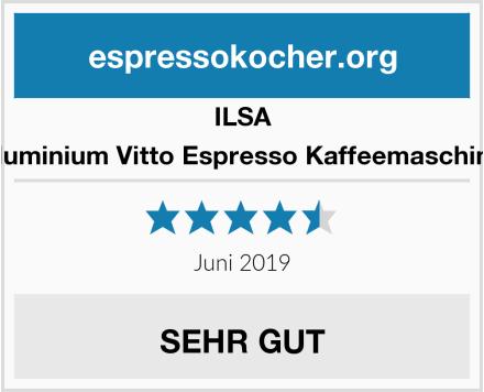 ILSA Aluminium Vitto Espresso Kaffeemaschine Test