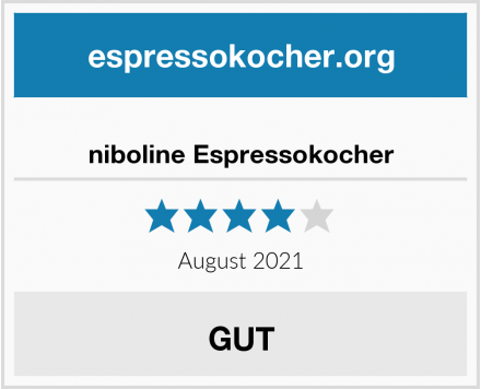 No Name niboline Espressokocher Test