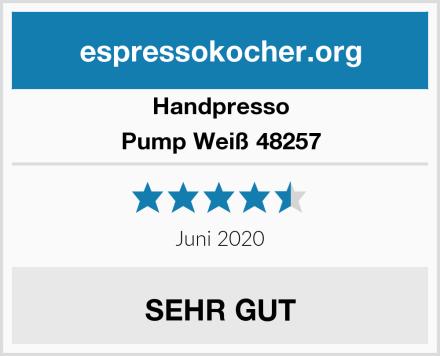 Handpresso Pump Weiß 48257 Test