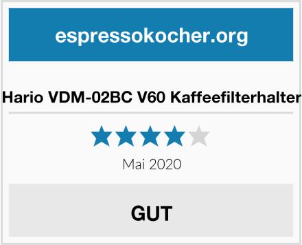 Hario VDM-02BC V60 Kaffeefilterhalter Test