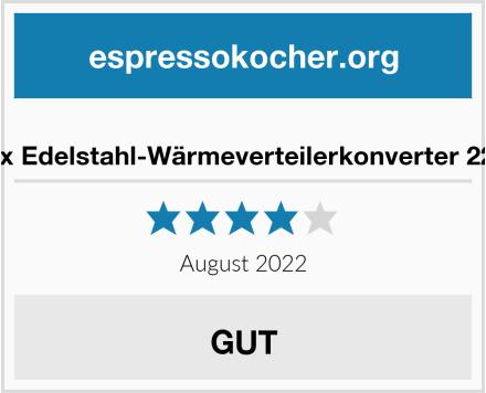 Asixx Edelstahl-Wärmeverteilerkonverter 22 cm Test