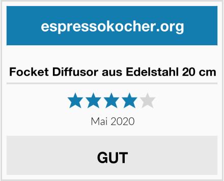 No Name Focket Diffusor aus Edelstahl 20 cm Test