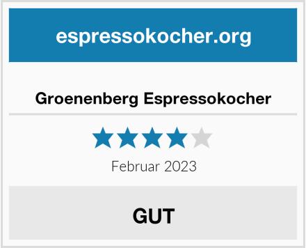 Groenenberg Espressokocher Test