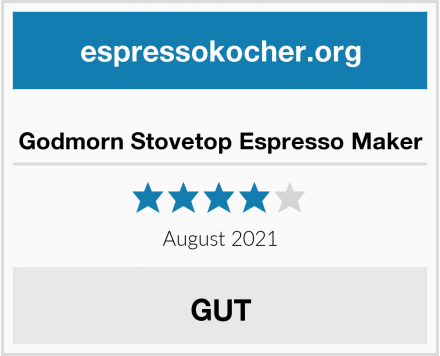 No Name Godmorn Stovetop Espresso Maker Test