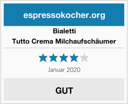 Bialetti Tutto Crema Milchaufschäumer Test