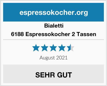 Bialetti 6188 Espressokocher 2 Tassen Test