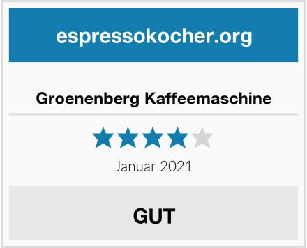 Groenenberg Kaffeemaschine Test