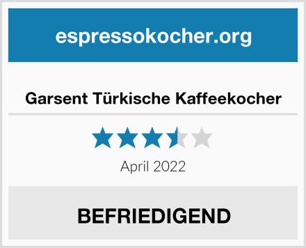 Garsent Türkische Kaffeekocher Test