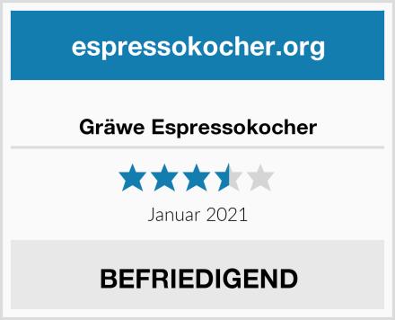 Gräwe Espressokocher Test
