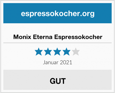 Monix Eterna Espressokocher Test