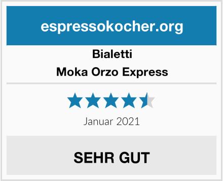 Bialetti Moka Orzo Express Test