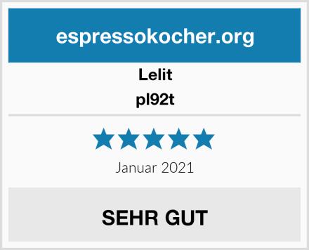 Lelit pl92t Test