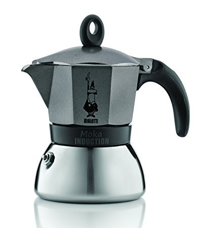 bialetti bialetti 4823 moka induktion espressokocher test 2018. Black Bedroom Furniture Sets. Home Design Ideas