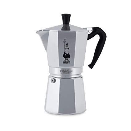 Bialetti Moka Express 12 Tassen Espressokocher