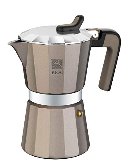 BRA Titanium Kaffeemaschine Aluminium