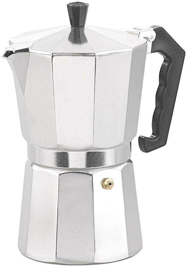 Cucina di Modena Espresso-Kanne: Espresso-Kocher für 9 Tassen