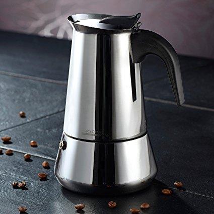 Cucina di Modena Espressokocher für 6 Tassen Espressokocher Test 2018