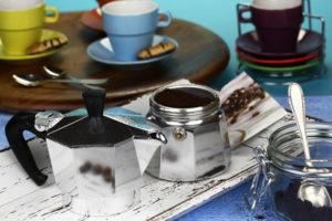 Was tun wenn der Espressokocher undicht ist?