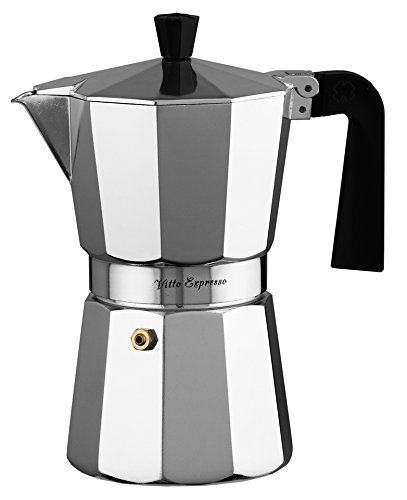 ILSA Aluminium Vitto Espresso Kaffeemaschine