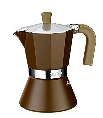 No Name Monix Cream Espressokocher für 12 Tassen