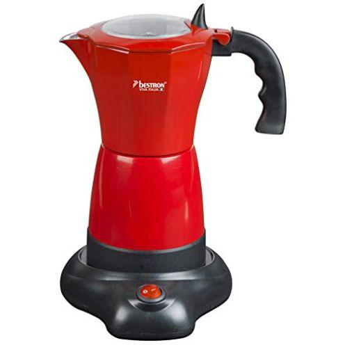 Bestron Elektrischer Espresso-Kocher mit Basis