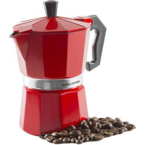 Andrew James 3 Tassen Espressokocher