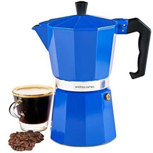 Andrew James 6 Tassen Espressokocher