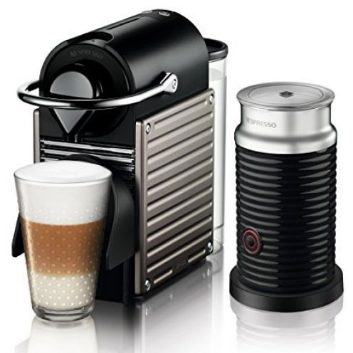 Krups XN 301T Nespresso Pixie Electric Titan