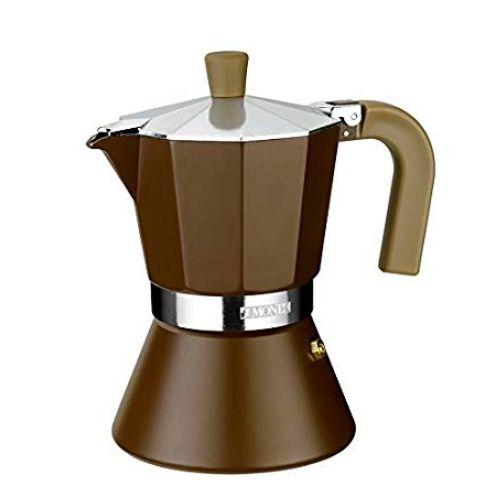 Monix Cream Espressokocher für 12 Tassen