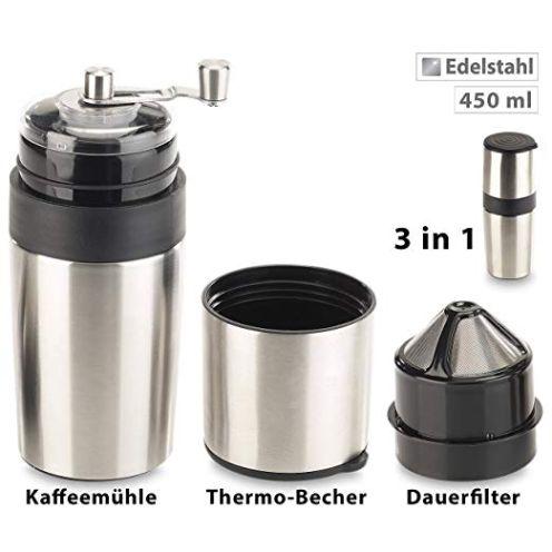 Rosenstein & Söhne Reisekaffeemaschine